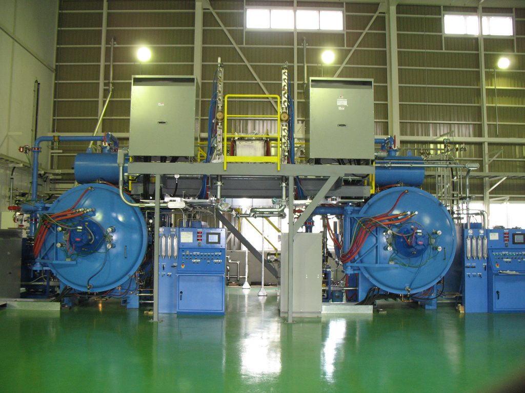 industrial vacuum furnaces